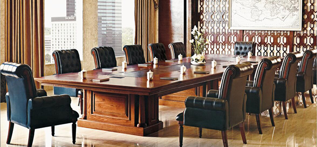 济南卓怡家具厂家—纯实木办公桌椅